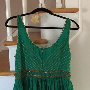 Free People Dresses - 1 Hr Sale Free People Green Beaded Dress